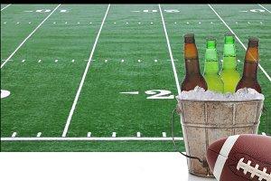 Beer Bucket Football Television