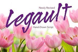 Legault Regular Hand-Drawn Script