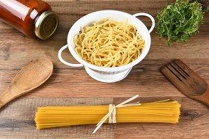 Spaghetti Colander Herbs