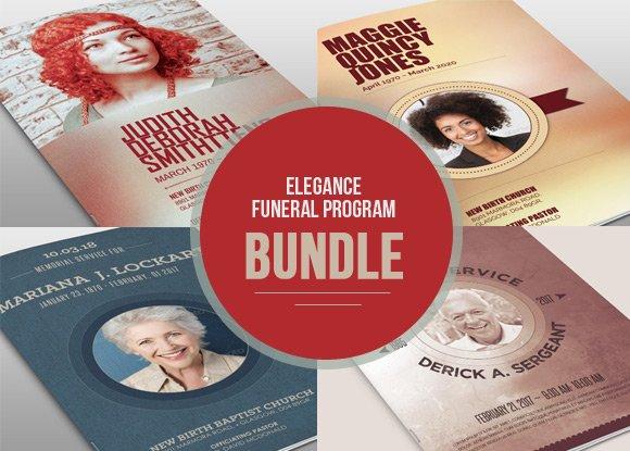 Remembrance Funeral Program Bundle