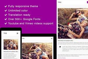 Trix - Responsive Blog Theme