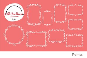 Frames clipart, vector images CL025