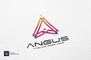 Angus / Letter A - Logo Template