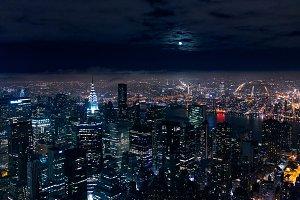 Full Moon in NYC