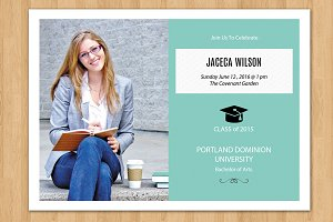 Senior Graduation Announcement-v195