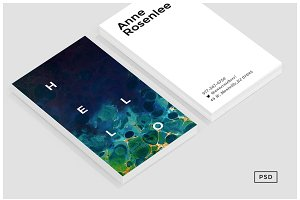 Muse Business Card Template