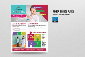 Junior School Flyer-V198