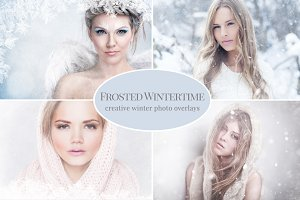 Creative Winter Photo Overlays