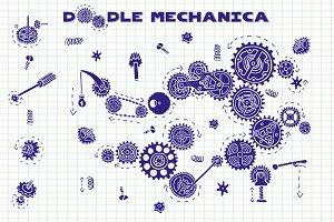 Doodle mechanica