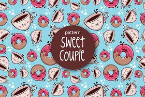 pattern Sweet Couple