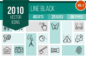 2010 Line Icons (V2)