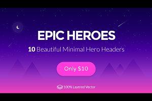 Epic Heroes Vol 01