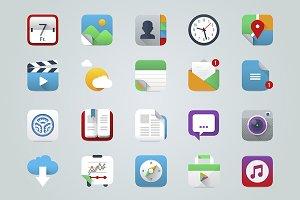 App & UI Icons IOS Style