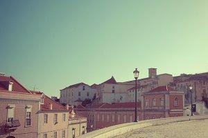 Lisbon city landscape