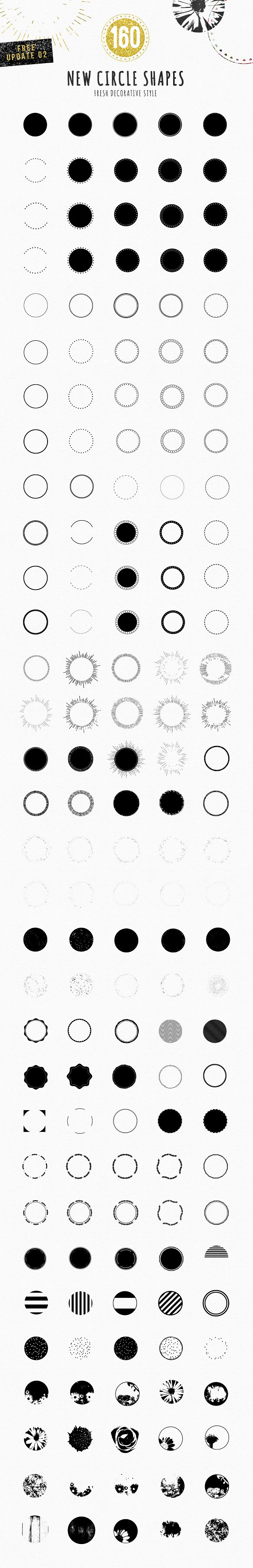 Feminine Logo Creator Circle Edition ~ Logo Templates ~ Creative Market