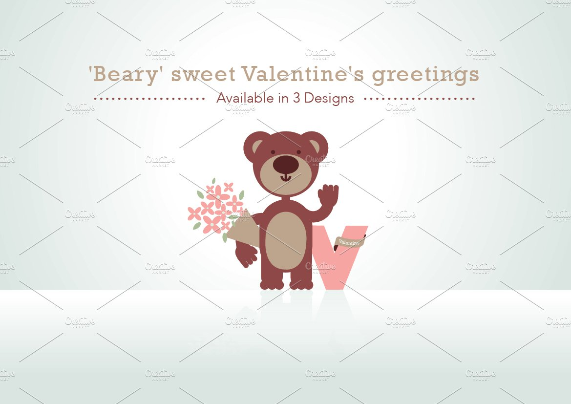 'Beary' sweet Valentine's greetings ~ Illustrations ...