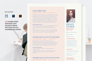 Resume Template - Alhena