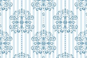 Royal Blue Background Pattern