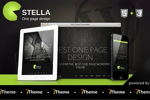 Stella - One Page WordPress Theme