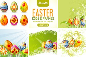 Easter Eggs & Frames