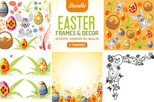 Easter Frames & Decor