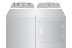 Washer, dryer