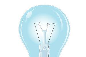 Bulb, realistic