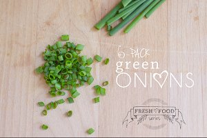 Chopped Green Onions 6 Pack