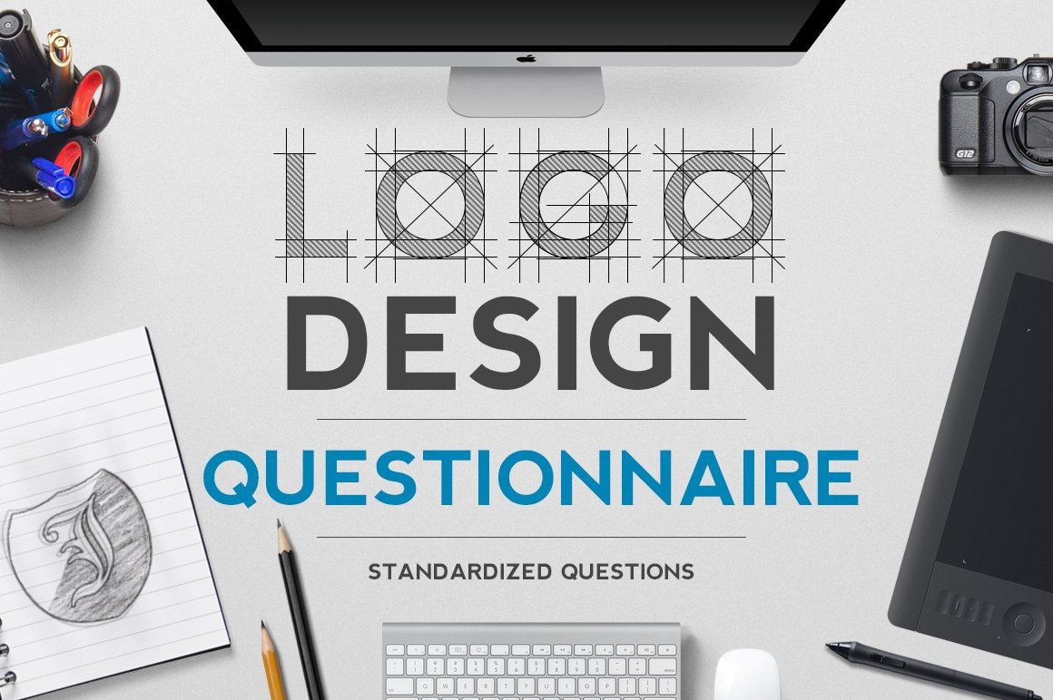 Logo Design Questionnaire Stationery Templates Creative Market