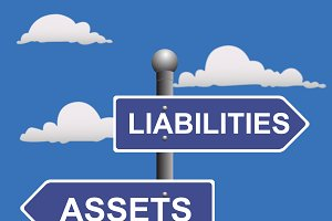 street sign  liabilities assets