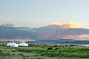Amazing Mongolian landscape
