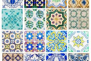 Old portugal tiles