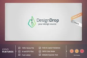 Design Drop - Logo Template
