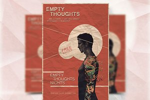 Empty Thoughts - Flyer Template