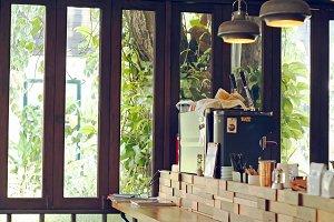 coffee shop counter