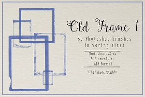 Old Frame Photoshop Brushes