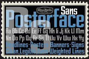 Posterface Sans