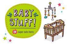 BIG SET of Baby Stuff! =30 in 1=