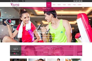 Young Fitness - Joomla Template