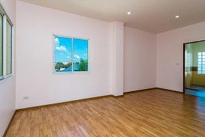 Empty Interior Living Room