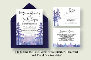 Enchanted Forest Wedding Suite