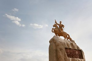 Statue of Damdin Sukhbaatar