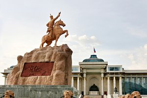 Statues of Ulan Bator