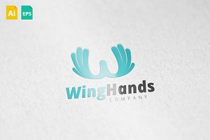 WingHands Logo