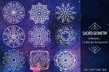 Sacred Geometry Design Elements