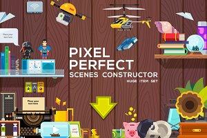 PIXEL PERFECT - scene constructor