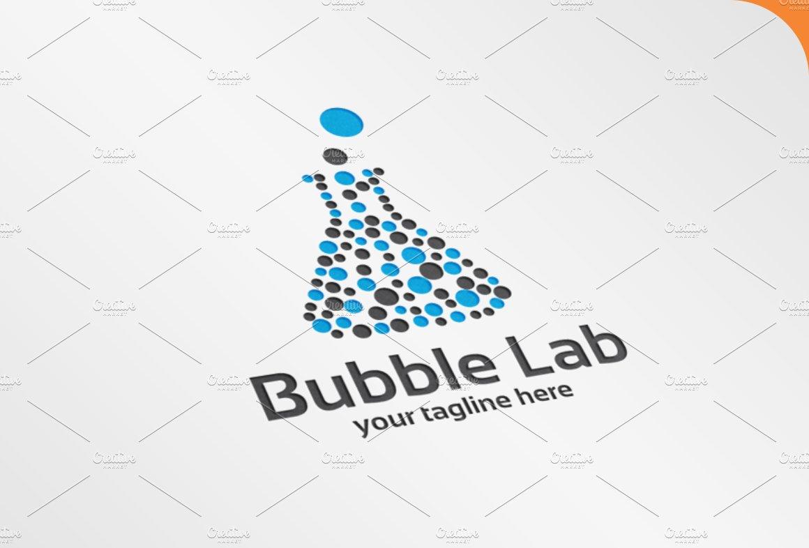 Bubble Lab Logo ~ Logo Templates ~ Creative Market