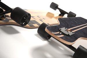 realistic longboard