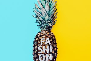 Fashion Pineapple Minimal