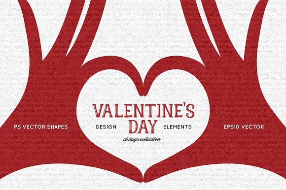 Valentine S Day Design Elements Illustrations Creative Market